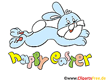 Lapin Pâques dessin  cliparts à télécharger