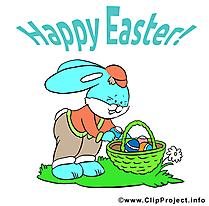 Lapin Pâques  illustration - images