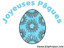 Oeufs clip arts gratuits - Pâques illustrations