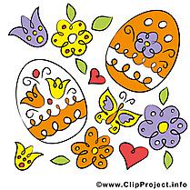 Oeufs clipart - Pâques dessins gratuits
