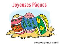 Oeufs dessin gratuit - Pâques image