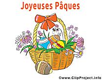 Panier clip art gratuit – Pâques images