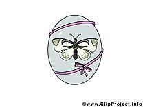 Papillon clipart gratuit - Pâques images