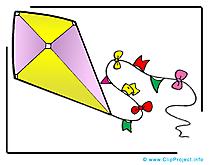 Cerf-volant images – Maternelle clipart gratuit
