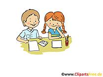 Coloriage dessins gratuits - Maternelle clipart gratuit
