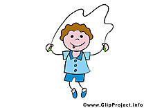 Corde à sauter images – Bonhomme dessins gratuits