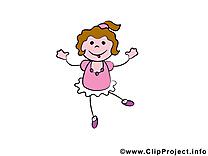 Danseuse clipart gratuit – Bonhomme images