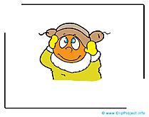Gosse image gratuite - Maternelle illustration