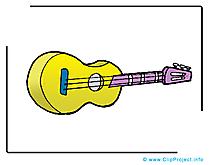 Guitare dessins gratuits - Musique clipart gratuit