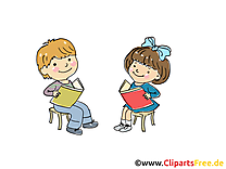 Lire illustration gratuite - Maternelle clipart