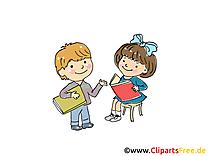 Lire maternelle dessin gratuit à télécharger