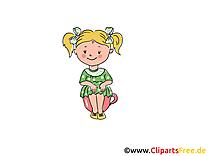 Petite fille maternelle image à télécharger gratuite