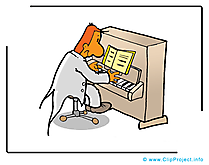 Piano illustration à télécharger gratuite