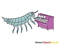 Piano images gratuites – Musique clipart gratuit