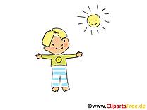 Soleil gosse images – Maternelle clipart gratuit