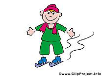 Sport h'hiver images – Bonhomme dessins gratuits