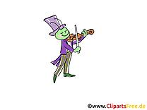 Violon musique dessin gratuit à télécharger