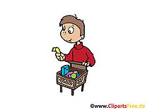 Acheteur images - Personne clip art gratuit