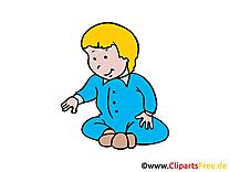 Bébé clip arts gratuits - Personne illustrations