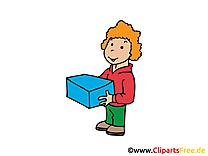 Courrier image gratuite - Personne images cliparts