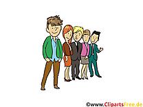 Élèves image à télécharger - Ados clipart
