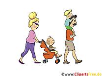 Famille clip art – Personnes image gratuite