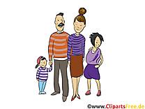 Famille clipart gratuit - Gens images