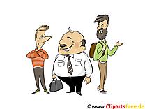 Groupe gens  illustration à télécharger gratuite