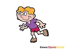 Jogging clipart gratuit - Coureur images