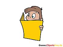 Lire image gratuite – Enfant clipart