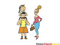 Papa maman dessin gratuit à télécharger