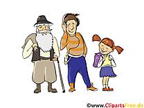 Personnes dessin gratuit - Gens clip arts gratuits