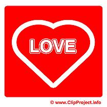 Amour dessins gratuits - Pictogramme clipart gratuit
