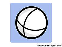 Balle image à télécharger - Pictogramme  clipart