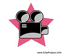 Caméra illustration - Pictogramme images