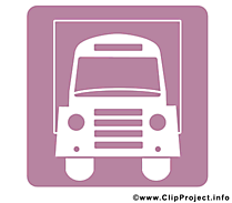 Camion clipart gratuit - Pictogramme images