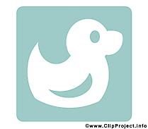 Canard image gratuite - Pictogramme cliparts