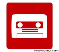 Cassette images - Pictogramme dessins gratuits
