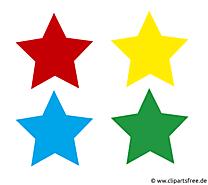 Étoiles pictogrammes dessin à télécharger