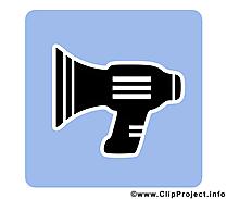 Haut-parleur clip art – Pictogramme images