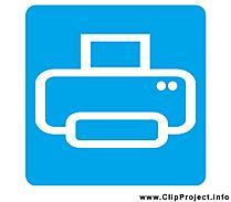 Imprimante image gratuite - Pictogramme cliparts