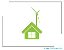 Maison eco dessin gratuit - Pictogramme image