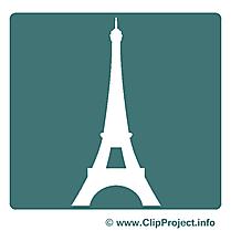 Paris image gratuite – Pictogramme clipart