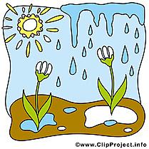 Clipart gratuit printemps dessins
