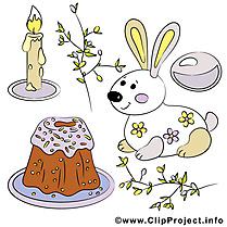 Gâteau pâques à télécharger gratuite