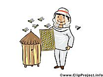 Apiculteur illustration - Métier images gratuites