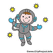 Astronaute image gratuite - Métier  images cliparts
