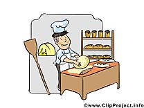 Boulanger images - Métier dessins gratuits