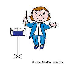 Chef d'orchestre images - Métier dessins gratuits