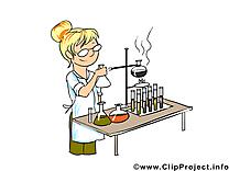 Chimiste dessin gratuit - Métier image gratuite